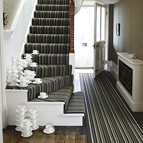 Wovwn stair carpets runners uppingham carpet company for Luxury stair carpet